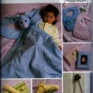 B4475 Butterick Pattern INFANTS GIFTS