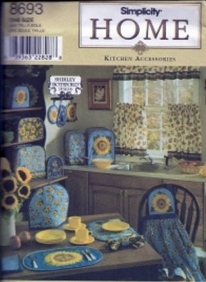S8693 Simplicity Pattern Kitchen Accessories by SHIRLEY BOTSFORD Design  OOP