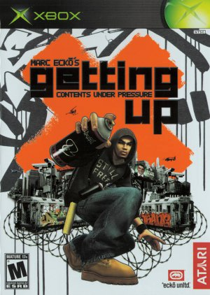 Marc Ecko's Getting Up - Contents Under Pressure (Microsoft XBox, 2005)