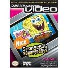 SpongeBob Squarepants GBA Video - Vol. 1 (Complete in box!)