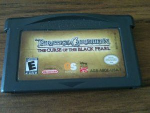 Pirates of the Carribbean - The Curse of the Black Pearl (Nintendo Game Boy Advance, 2003)