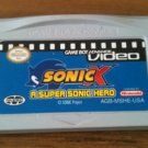 GBA Video: Sonic X - A Supersonic Hero (Nintendo Game Boy Advance, 2004)