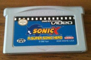 GBA Video: Sonic X - A Supersonic Hero (Nintendo Game Boy Advance, 2004)