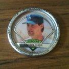 1990 Topps Coin - Tim Belcher #38 L.A. Dodgers, Pitcher **RARE**
