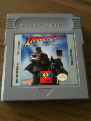 Indiana Jones & The Last Crusade (Nintendo Game Boy, 1998)