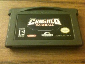 Crushed Baseball (Nintendo Game Boy Advance, 20003)