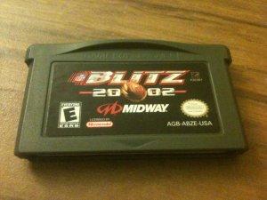 NFL Blitz 2002 (Nintendo Game Boy Advance, 2001)