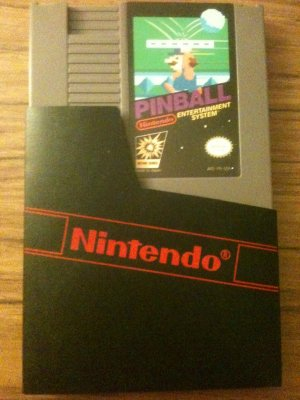 Pinball (Nintendo Entertainment System, 1985)