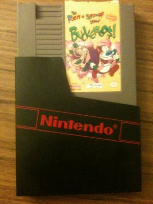 The Ren and Stimpy Show - Buckeroos! (Nintendo Entertainment System, 1994)