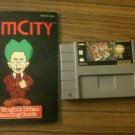 SimCity w/ Instruction Booklet (Super Nintendo, 1991)