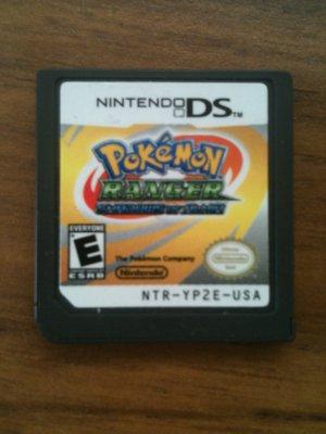 Pokemon Ranger - Shadows of Almia (Nintendo DS, 2008)