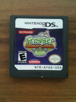 Frogger: Helmet Chaos (Nintendo DS, 2005)