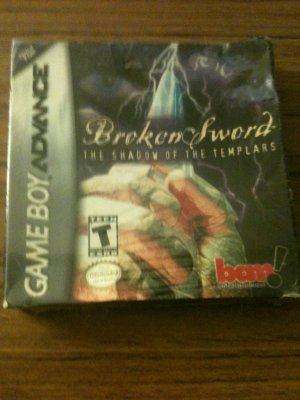 FACTORY SEALED: Broken Sword - The Shadow of the Templars (Nintendo Game Boy Advance, 2002)