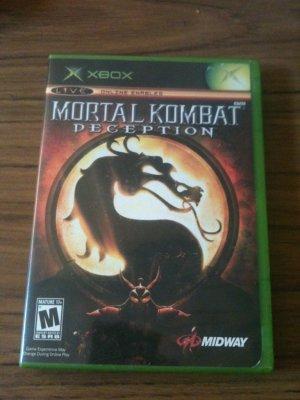 Mortal Kombat Deception (Microsoft Xbox, 2004)