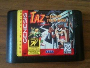 Taz in Escape From Mars - Mega Hit Series Edition (Sega Genesis, 1996)