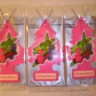 CinnaBerry  Tree Air Freshener - Lot of 72 -