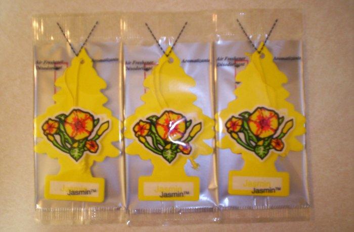 Jasmin  Tree Air Freshener - Lot of 3 -