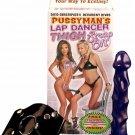 Lap Dancer Thigh Harness Strap-On Dildo