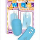 Wireless Remote Control Vibrating Egg - Blue