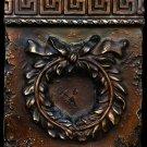 Roman wreath plaque sculpture