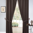 """Grommet 54"""" x 84"""" Thermal Insulated  BlackOut Curtain Set Brown Window Panel Set"""