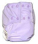Mommy's Touch, EZ Clean Cloth Diaper - Light Lavendar