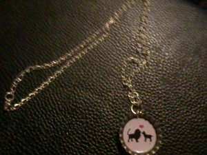 So the Lion Fell In Love With the Lamb - Necklace