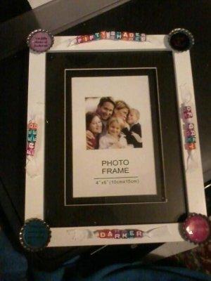Fifty shades Theme Photo Frame