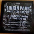 Linkin Park: Somewhere I Belong [Street Team Sampler] (CD)