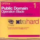 Public Domain: Operation Blade (CD Single)