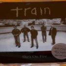 Train:  She's On Fire (Enhanced CD)