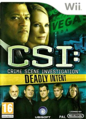 CSI: Crime Scene Investigation - Deadly Intent (Wii)