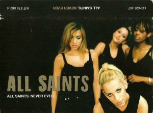 All Saints:  Never Ever (Cassette Single)