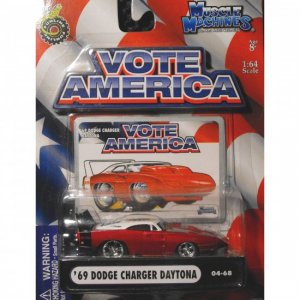 Muscle Machines - Vote America - Charger (Red)