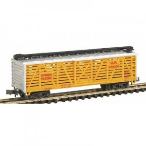 """Union Pacific Stock Car (""""N"""" scale)"""