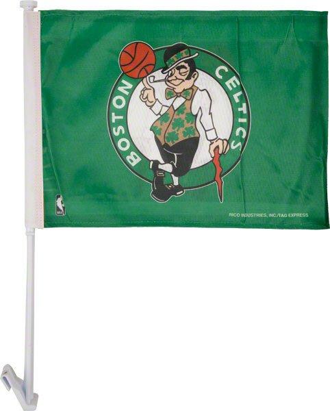 Boston Celtics Car Flag NBA
