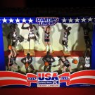 United States Men's Olympic Basketball Team 1992 Dream Team Starting Line-up