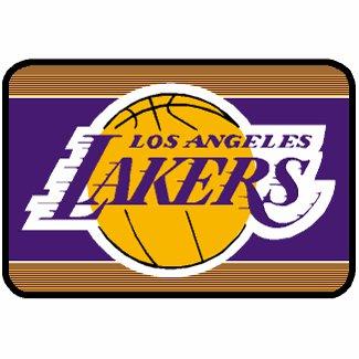 Los Angeles Lakers Round Corner Mat NBA