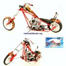 Miami Heat Diecast 1:10 Scale OCC Choppers NBA