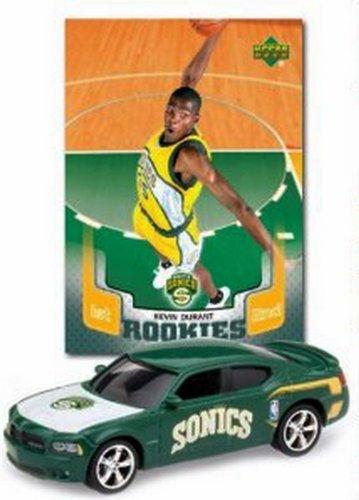 Kevin Durant Nba Ballin Rookies Sonics Diecast Car
