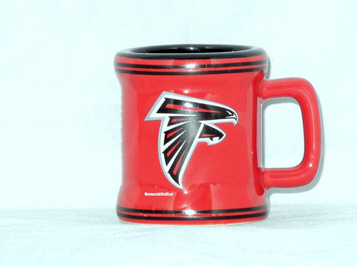 Atlanta Falcons 2oz Sculpted Mini Mug NFL