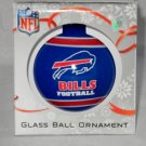Buffalo Bills Team Logo Glass Ball Ornament