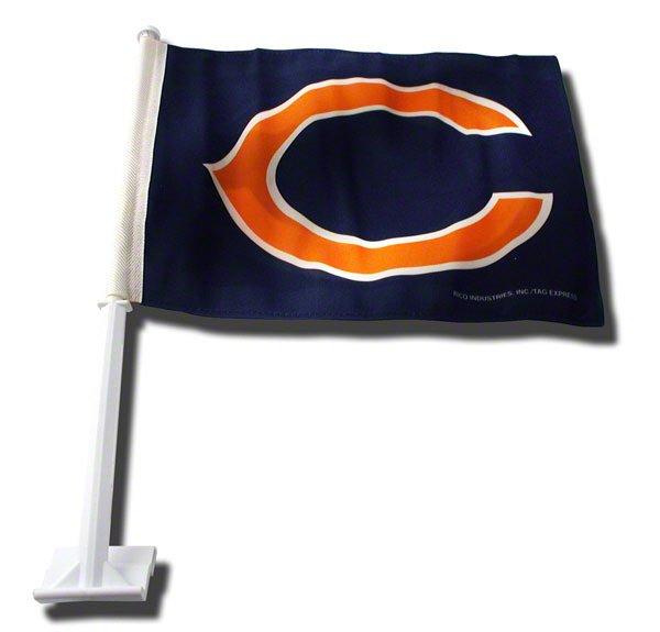 Chicago Bears Car Flag NFL