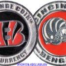 Cincinnati Bengals NFL Challenge Coins Poker Chip