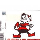Cleveland Browns Static Cling Decal NFL