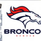 Denver Broncos Static Cling Decal NFL