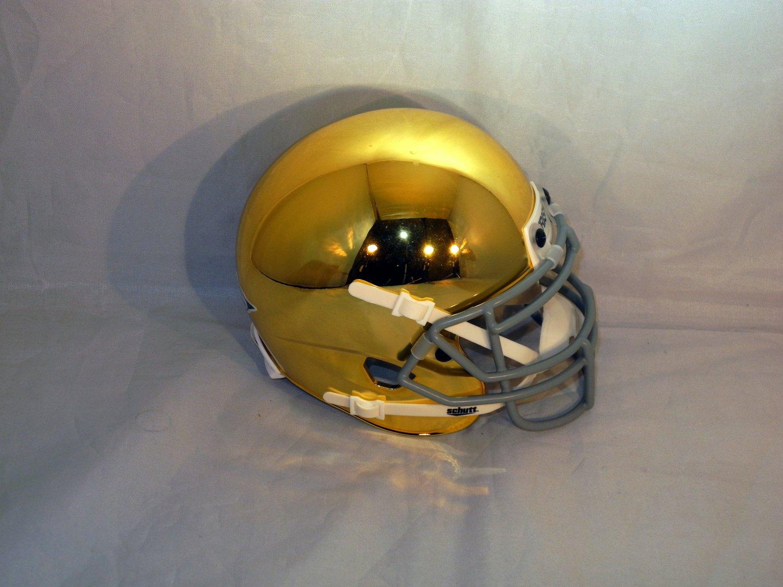 Notre Dame Fighting Irish Authentic Mini Helmet with Game Decals