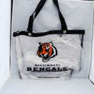 Cincinnati Bengals Clear Bag Tote Messenger Bag NFL