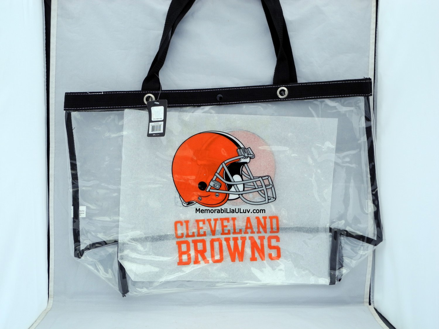 Cleveland Browns Clear Bag Tote Messenger Bag NFL