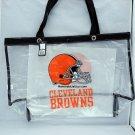 Cleveland Browns Clear Bag Tote Messenger Bag NFL